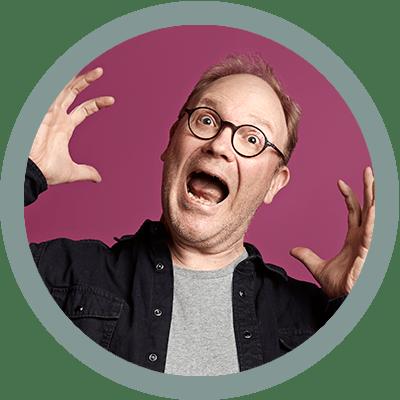 Aku Ankka Klassikko -lehden päätoimittaja Aki Hyyppä