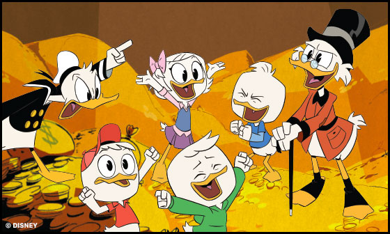 Tv:stä tuttua sarjakuvaa - DuckTales