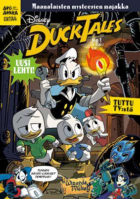 DuckTales-lehden kansikuva