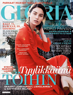 Gloria-lehden kansikuva