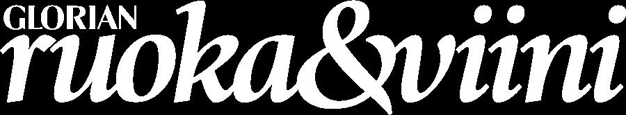 Glorian ruoka&viini logo