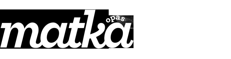 Matkaopas -lehti logo