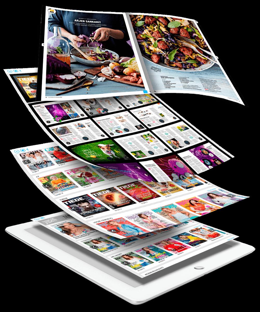 Digilehdet iPad